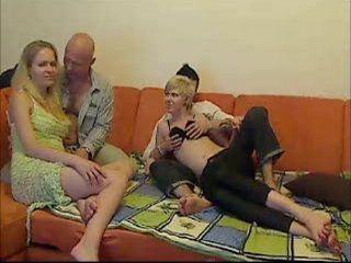 Swinger Orgy Caught On Webcam