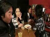 Two MILFs Fucked By Two Guys In The Bar
