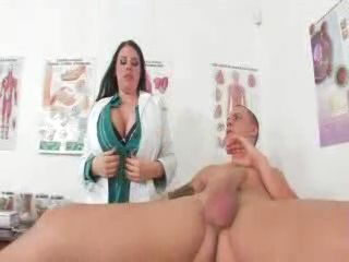 Busty Doc Gets Nailed In Her Office - Daphne Rosen