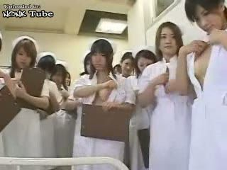 Japanese Nurses Make Patient Feeling Much Better