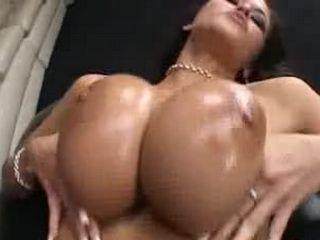 Huge tits babe deepthroat hard