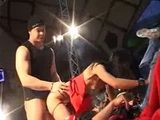 Porn on stage fucking acion