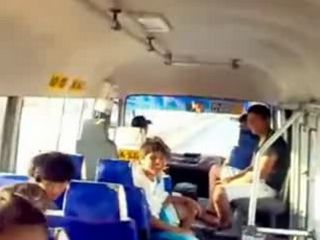 Teen Slut Public Bus Sex
