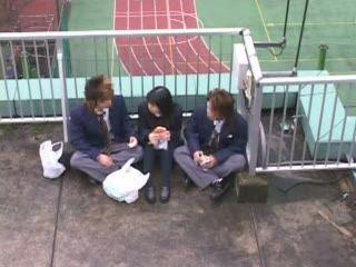 Teen Gives Tekoki To Two Classmates On School Roof