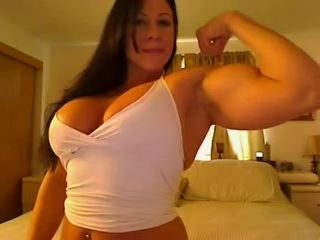 Big Tits Muscle Woman