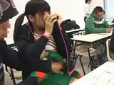Japanese Student Attacking Colleague in Classroom