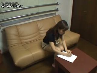 Mature Japanese Woman Fucked On Job Interview