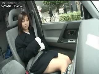 Japanese Daddy Abusing Daughters Girlfriend In Car