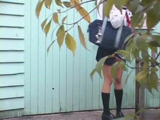 Japanese Girl Pissing