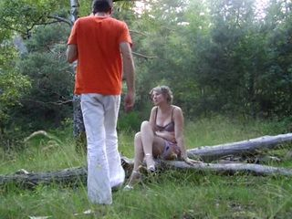 Mom Took Her Daughters Boyfriend To A Forest
