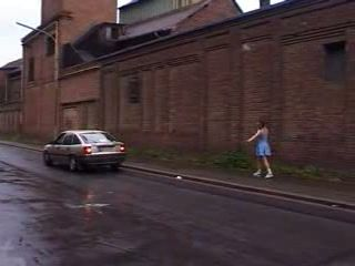 German Schoolgirl Gets Fucked On Her Way Home From School