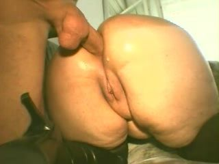 BBW Mature Anal Fucked