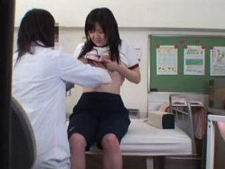 Voyeurcam at lesbian Schooldoctor