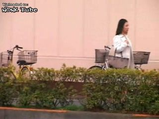 Japanese MILF Caught In Stealing Abused at Police Station