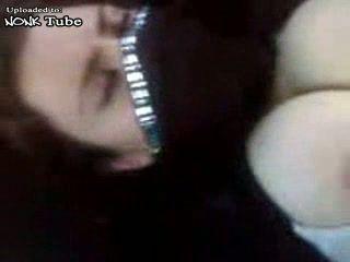 Busty Arab Woman Fucked In Car