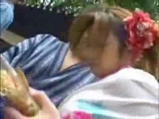 Japanese Grope and Fuck In Public