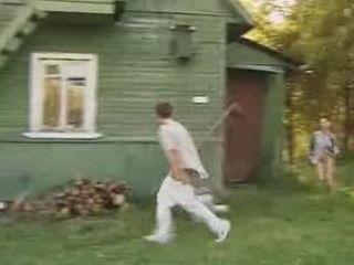 Weird Russian Village Porn