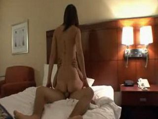 Real couple hotel room sex tape