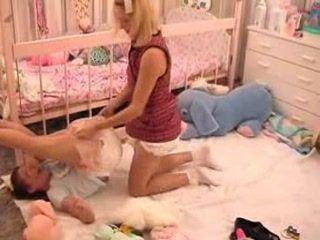 Diaper Adult Baby Girl 11