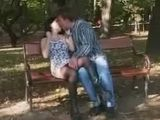 Horny Couple Fucks in the Park