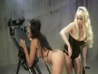 Lesbian Femdom Bondage