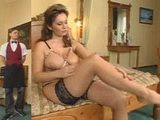 Damn Hot Busty MILF Seduce and Fucks Confused Young Bellboy