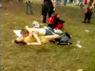 Teen Boy Fuck Mature Slut in Public Rock Concert