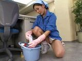 Japanese Mature Office Cleaning Lady Violated At Work