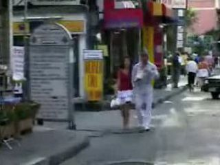 Afternoon Walk Between European Man and Asian Girl Turn into Wild Home Sex