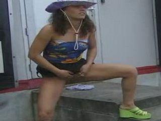 German Babes Public Outdoor Pissing 3xLx