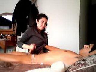 dansk husmorsex penis massage