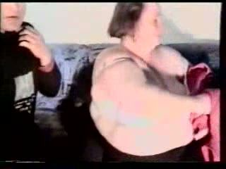 Old Fat 60yo Granny Anal Lover