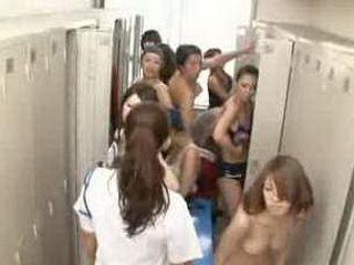 Invisible naked man goes full horny in women's locker room