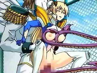 Innocent hentai girl gets  fucked