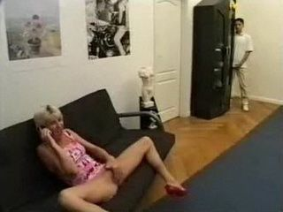 Stepson Catch Stepmom Masturbate