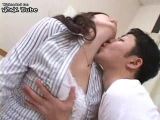 Japanese Busty Mom Gets Fucked By Daughters Young Boyfriend