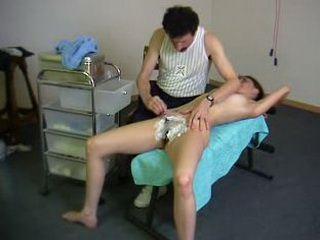 Spanking In Doctors Ofice Thin Ponytail xLx