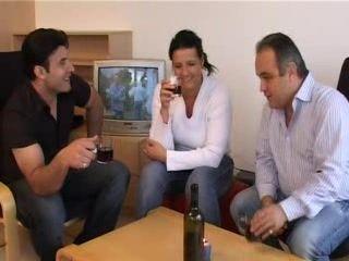 Turkish Slutty Girl Chose Boyfriend Dad To Fuck