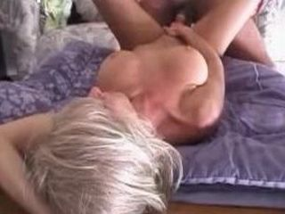 Horny amateur couple fucking on the table