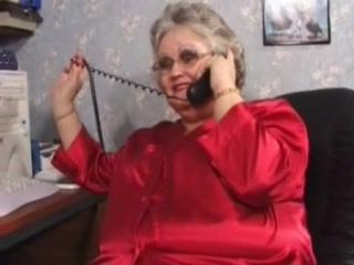 Fat Busty Granny In Red Lingerie Fucking Hard