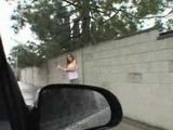 Busty Girl Made A Mistake By Entering This Car