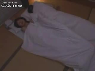 While Uncle Was Sleeping Dead  Japanese Boy Sneaks Uncles Wife Bed