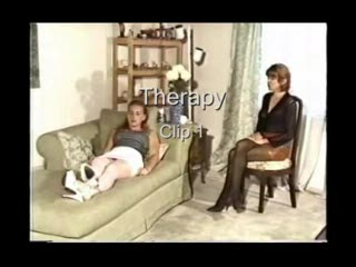 Woman gets spanked by her therapist 1