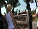 Blonde Girl  Will Get A Long Ride