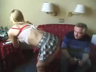 Teen Girl Gets Fucked By An Old Dude On A Job Interview
