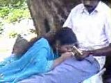 Indian Woman Secretly Taped Giving Blowjob In Public Park