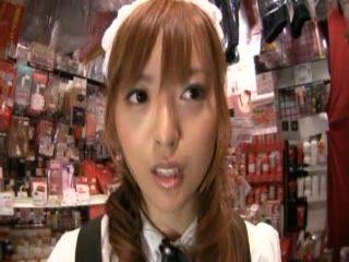 Japanese Teen Girl Sucking In Video Club