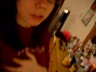 teen in webcam