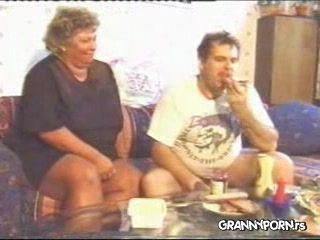 Amateur Russian Fat Granny Homevideo