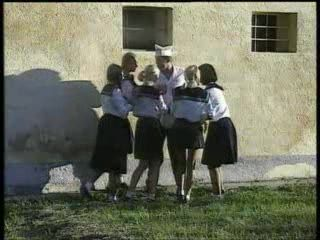 Schoolgirls Abused And Fucked Cook Chef